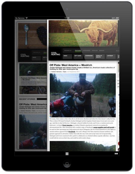 Webbrowser Coast für iPad veröffentlicht