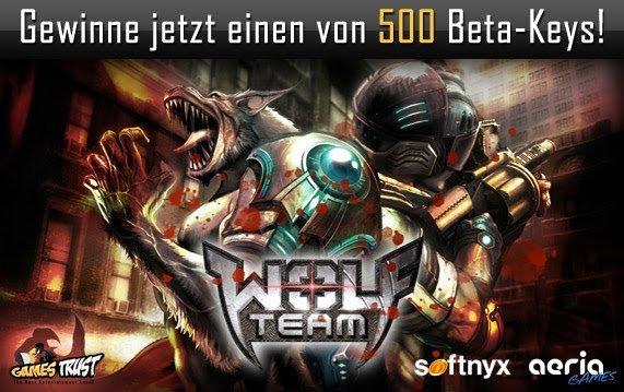 Wolf Team – Betakeys gewinnen