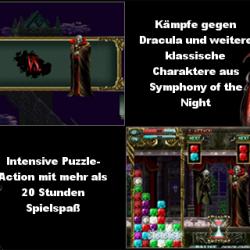 Castlevania Puzzle: Encore of the Night für iPhone veröffentlicht