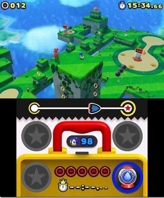 Sonic Lost World Screenshot 3DS