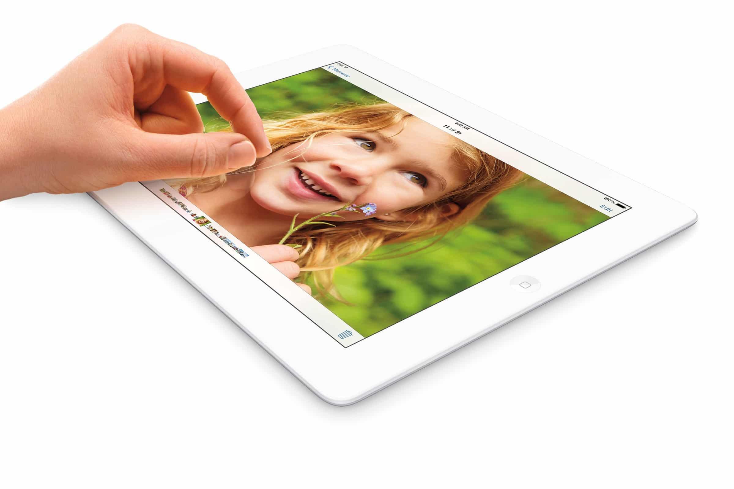 Kommt das iPad 6 mit 40% mehr Pixeldichte?