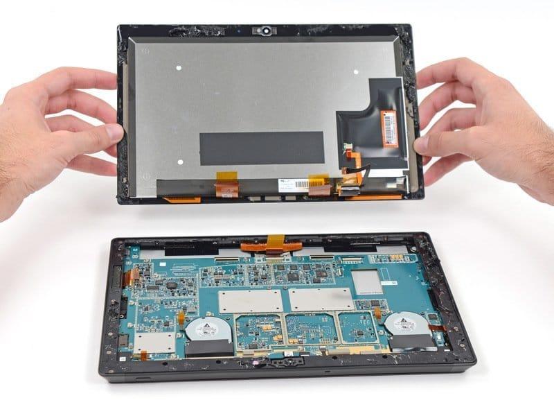 Teardown: Microsoft Surface Pro 2 auseinandergenommen