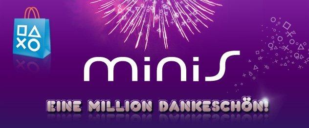 PlayStation minis erreichen Milestone von 1er Million Downloads