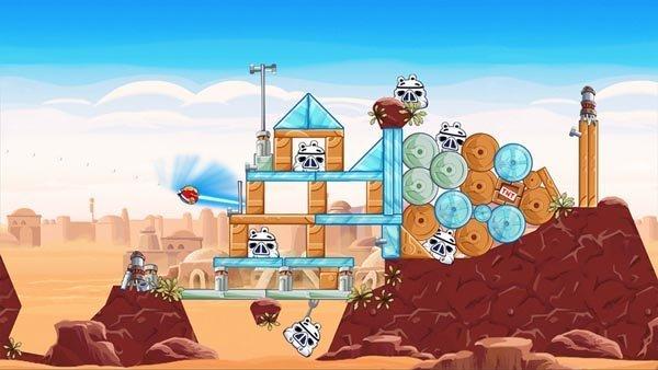 Angry Birds Star Wars Screenshot 1