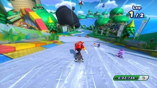 Mario & Sonic bei den Olympischen Winterspielen Sotschi 2014 Screenshot 1