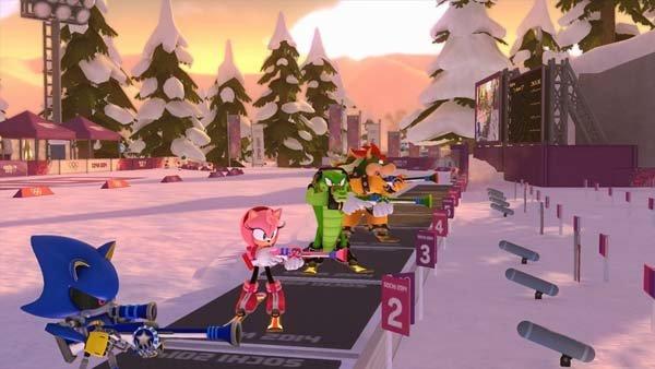 Mario & Sonic bei den Olympischen Winterspielen Sotschi 2014 Screenshot 2