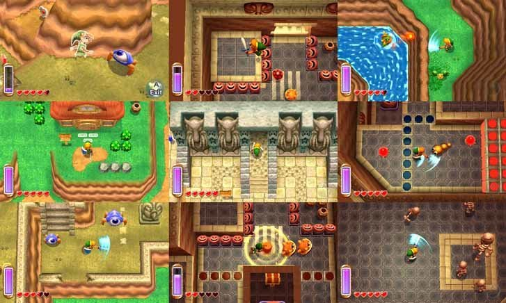 The Legend of Zelda A Link Between Worlds Screenshot