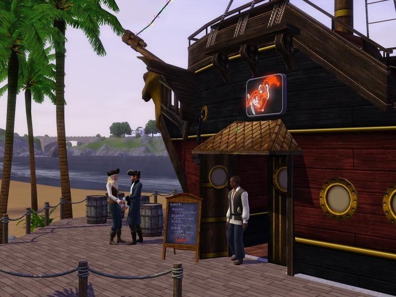 Die Sims 3: Barnacle Bay - Screenshot