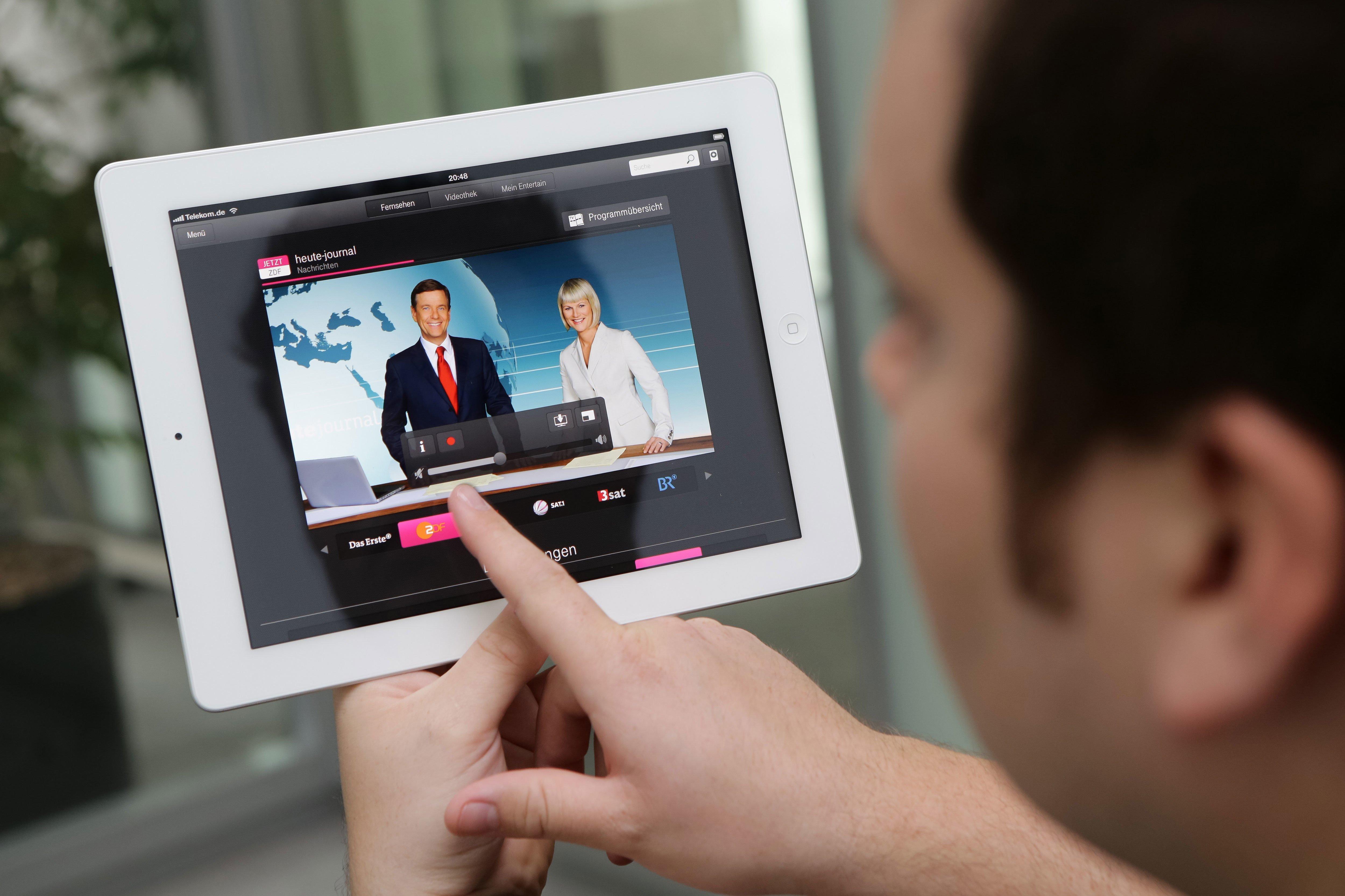 Entertain to go: IPTV-Angebot der Telekom jetzt auf iPhone und iPad