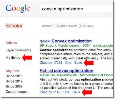 Google Scholar Library