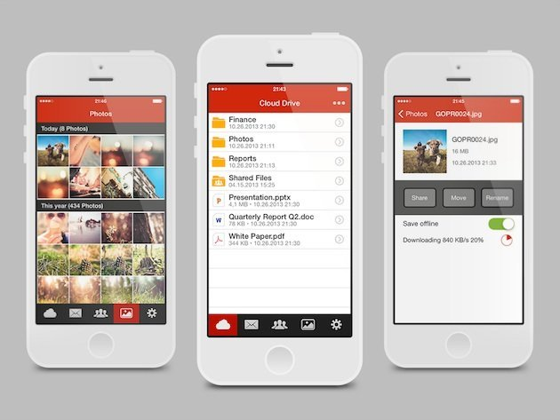 Offizielle Mega iPhone-App veröffentlicht