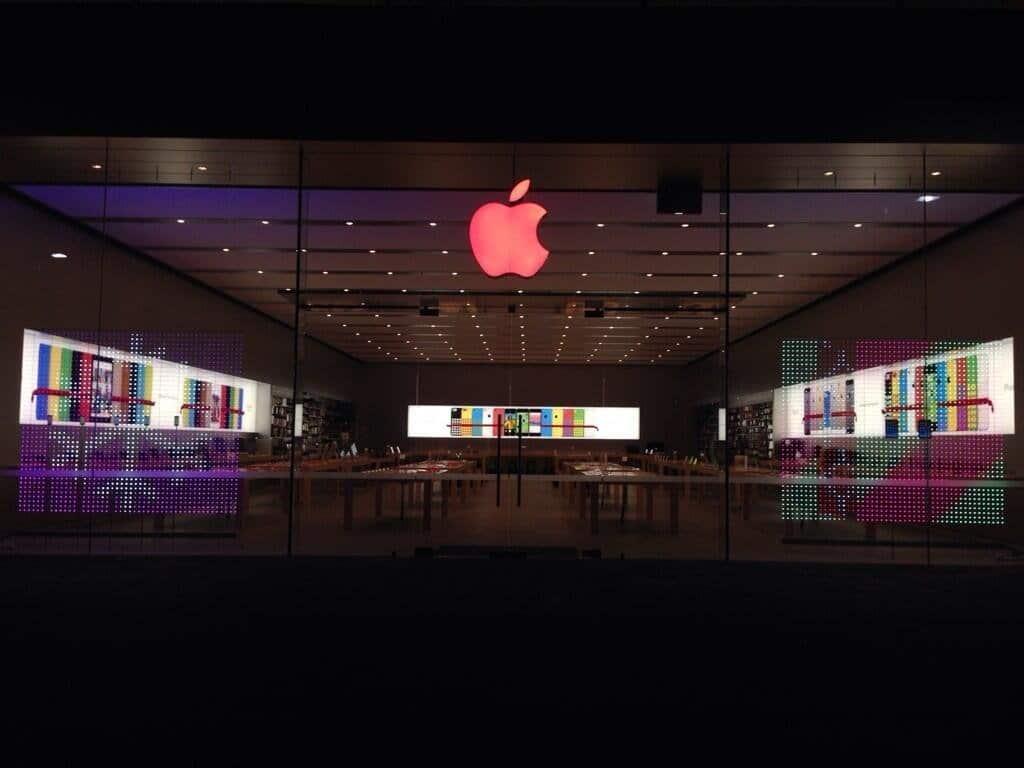 Apple wieder mit rotem Logo am Welt-AIDS-Tag