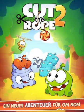 Cut the Rope 2 für iPhone und iPad veröffentlicht