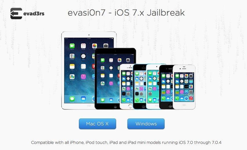 evasi0n7: Untethered Jailbreak für iOS 7 veröffentlicht