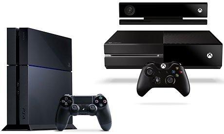 PS4 vs Xbox One composite