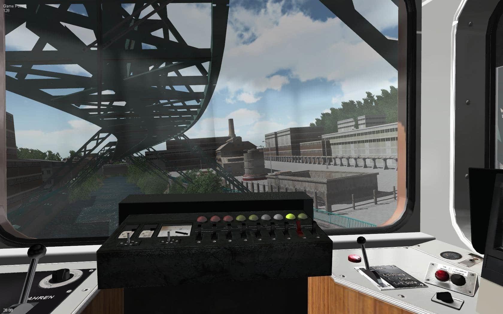 Schwebebahn-Simulator