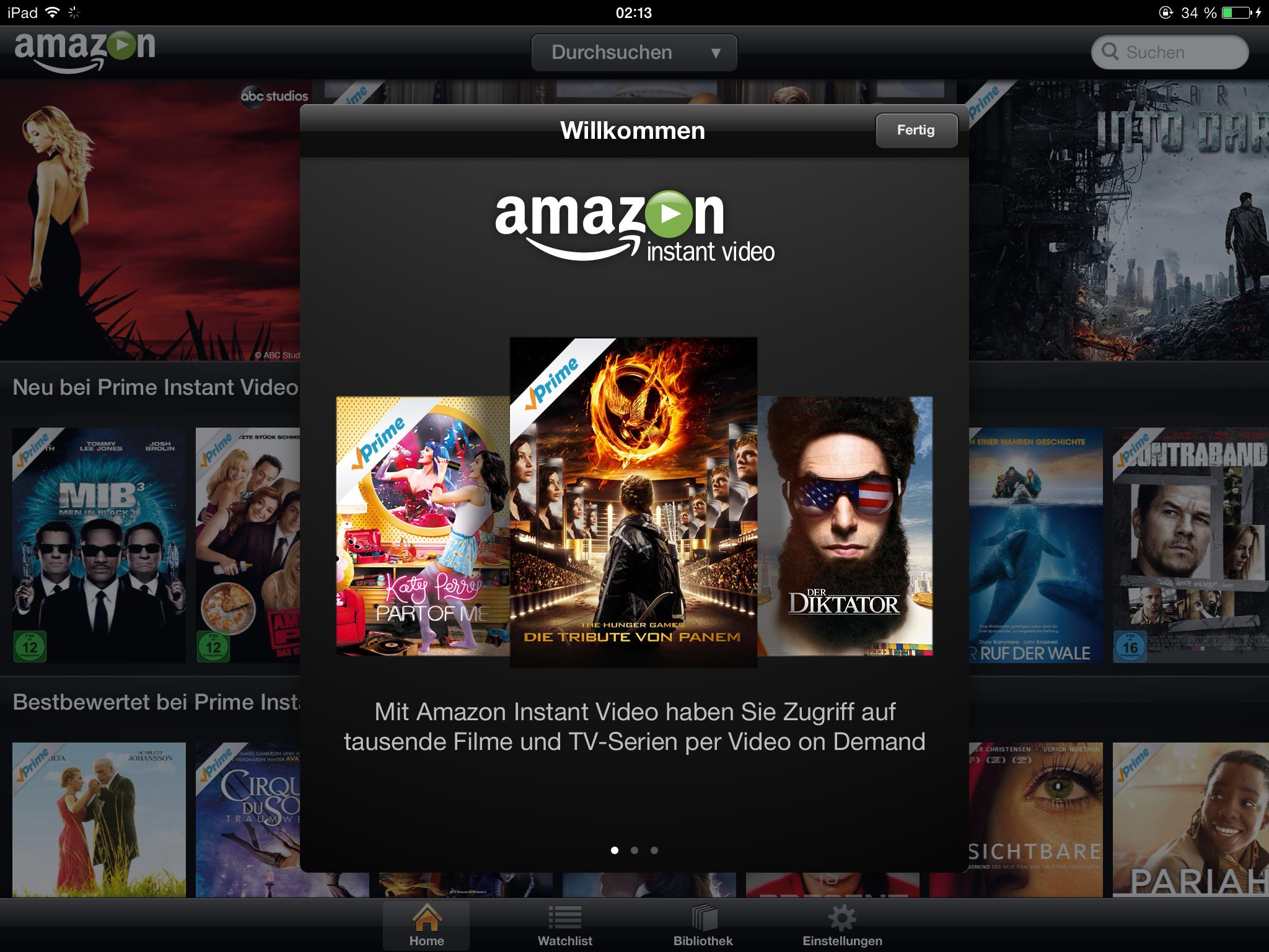 Amazon Instant Video: Mehr Traffic in USA als Hulu und Apple
