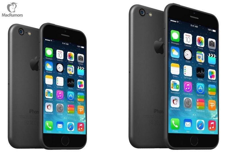 Zwei neue iPhones mit 4,7 und 5,5 Zoll noch dieses Jahr