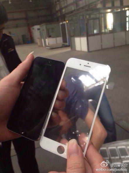 iPhone 6: Foto zeigt angebliches Front-Glas