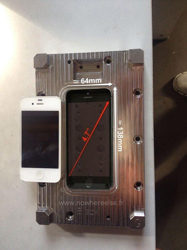 Angebliche Gussform-Schablone zeigt 4,7-Zoll–iPhone-6