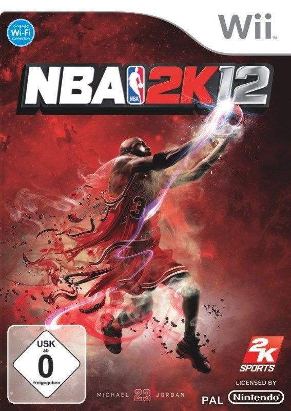 NBA 2K12 - Cover Wii