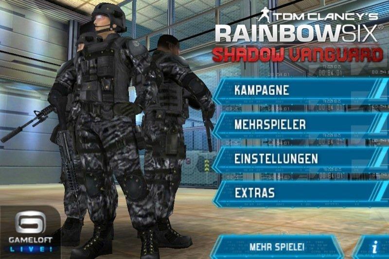 Teaser-Trailer zu Rainbow 6: Shadow Vanguard für iOS