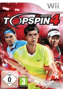 Top Spin 4 - Cover Wii