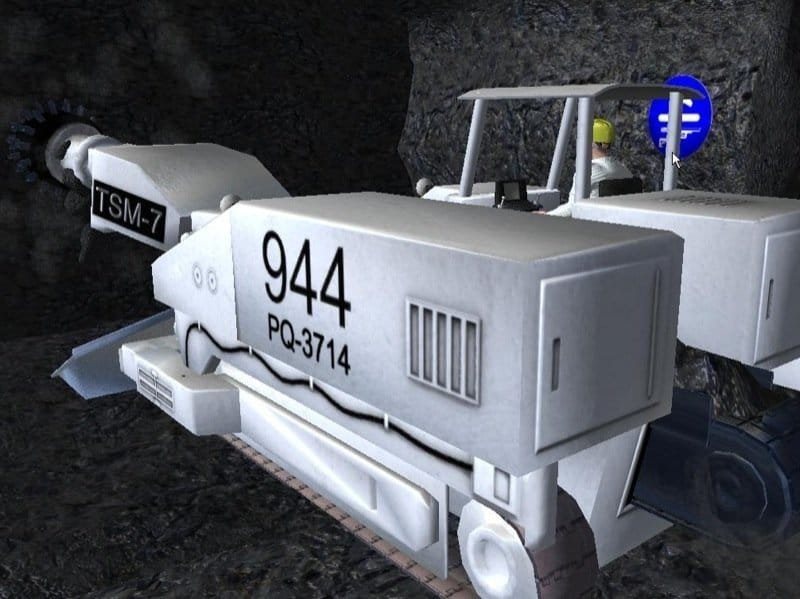 Untertagebau-Simulator 2011 - Tunnelbohrer