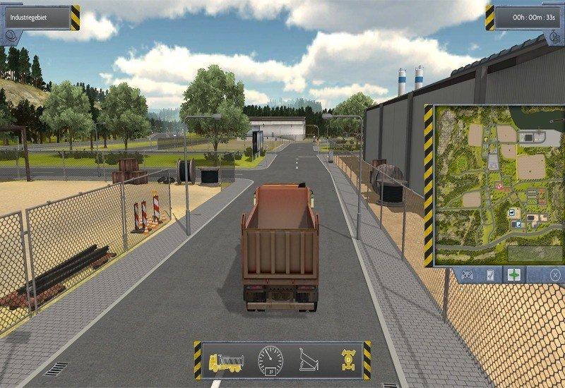 Bau-Simulator 2012 - Screenshot