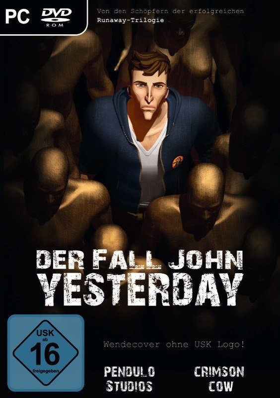 Der Fall John Yesterday - Cover PC