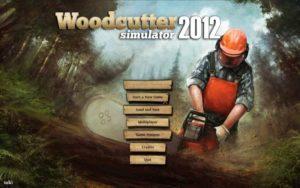 Holzfäller Simulator 2012 - Startbildschirm