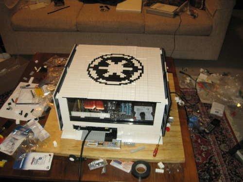 lego tower geh use gebastelt. Black Bedroom Furniture Sets. Home Design Ideas