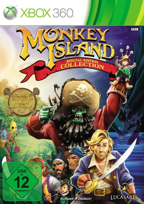 Monkey Island: Special Edition Collection - Cover Xbox 360