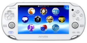 PlayStation Vita in Weiß