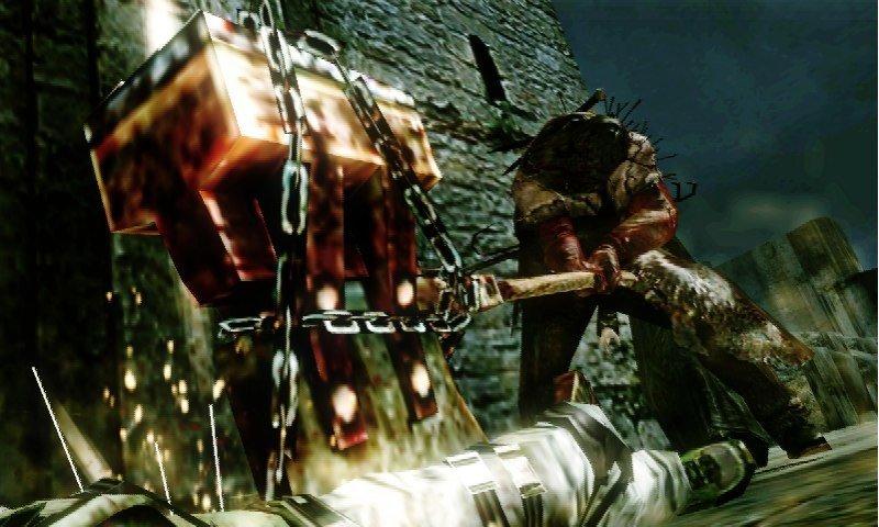 Resident Evil: The Mercenaries 3D - Screenshot