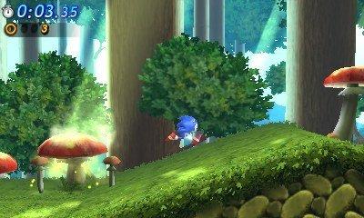 Sonic Generations auch für Nintendo 3DS