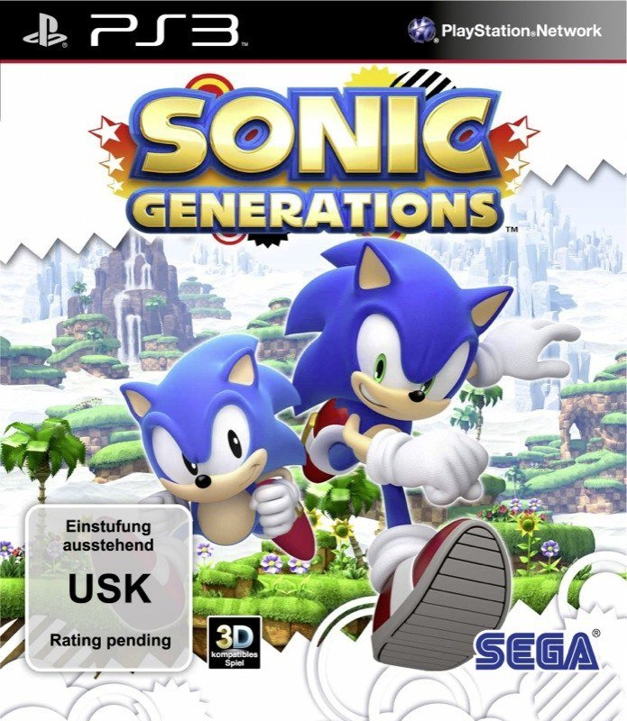 Sonic Generations - Cover PS3