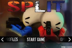 Split! - Startbildschirm
