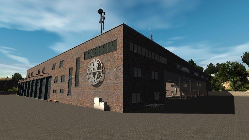 Werksfeuerwehr-Simulator - Screenshot