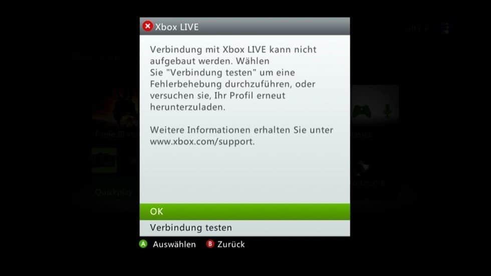 Xbox Probleme