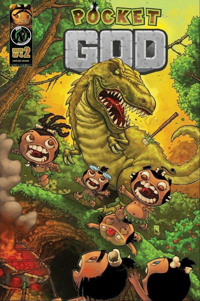 Pocket God Comic Ausgabe 2 veröffentlicht