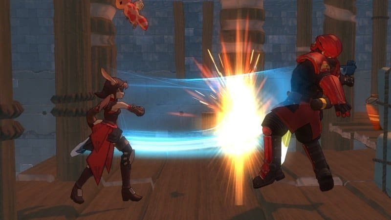Blade Kitten - Screenshot
