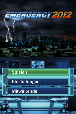 Emergency 2012 - Screenshot