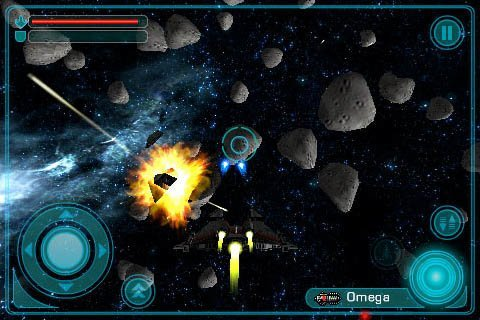 Galaxy on Fire – Elite auf dem iPhone