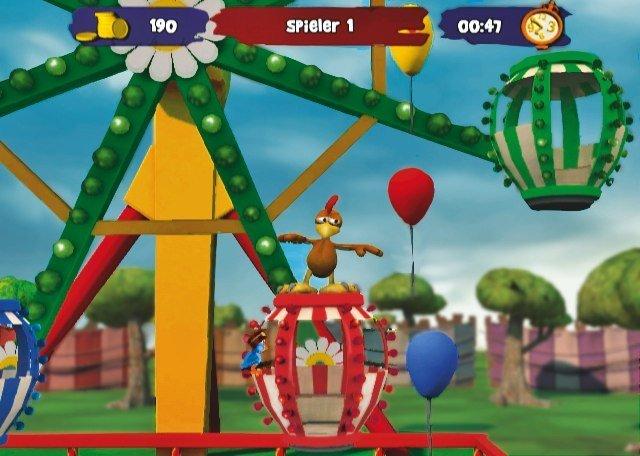 Moorhuhn Jahrmarkt-Party - Screenshot