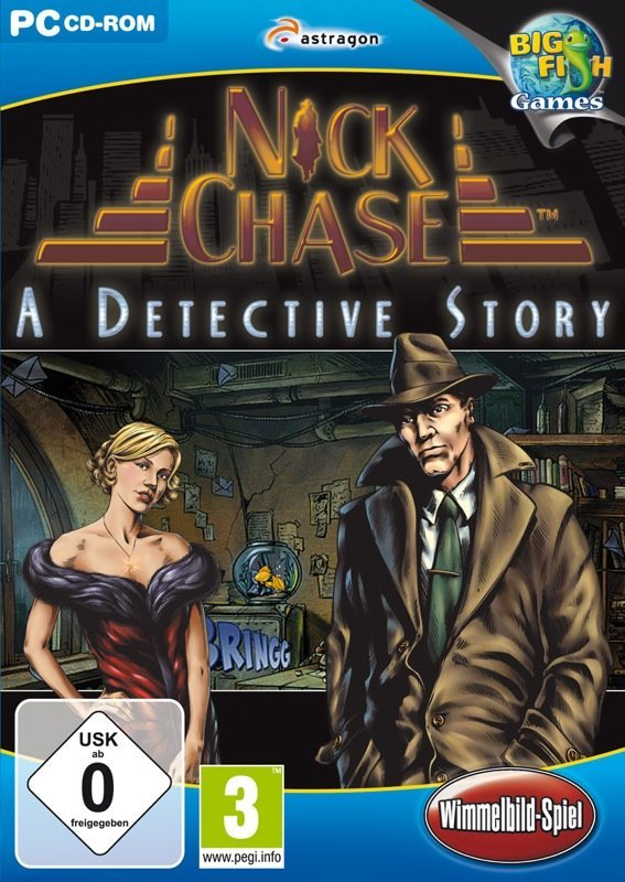 Nick Chase: A Detective Story - Cover PC