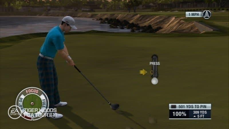 Tiger Woods PGA Tour 2011 - Screenshot