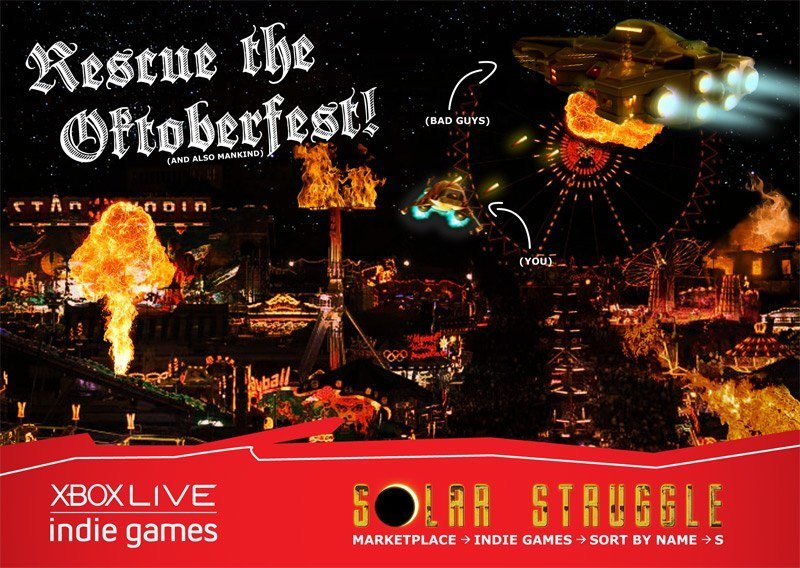 redspotgames - Oktoberfest-Karte