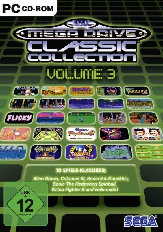 SEGA Mega Drive Classic Collection #3 - Cover PC
