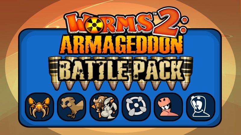 Worms 2: Armageddon Battle Pack für PS3 und iOS veröffentlicht